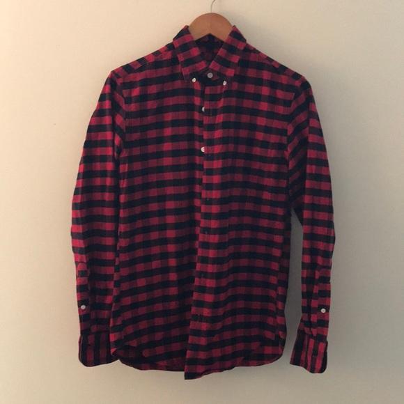 35eb38c9 J. Crew Shirts | J Crew Slim Fit Buffalo Check Flannel | Poshmark